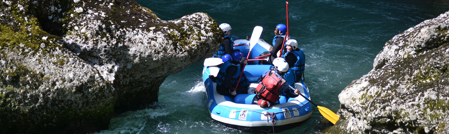 Rafting in Les Gets & Morzine